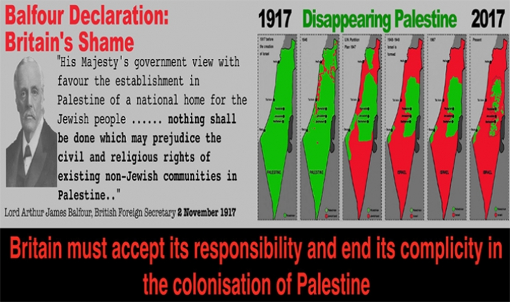 Balfour 100 | Repairing the World- why Britain should now recognise the State of Palestine